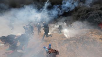 Nyolc hónapos csecsemő is van az 58 gázai áldozat között