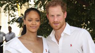Rihanna nem is tudta, hogy most lesz a királyi esküvő