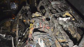 Tűz ütött ki egy nyolcemeletes panelban Angyalföldön