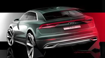 Feneket villant az Audi Q8