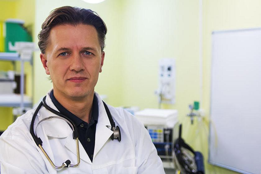 Dr. Schwab Richárd, a DiaVitas Program alapítója.