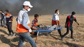 Lelőttek két palesztint az izraeli katonák a Gázai övezetnél