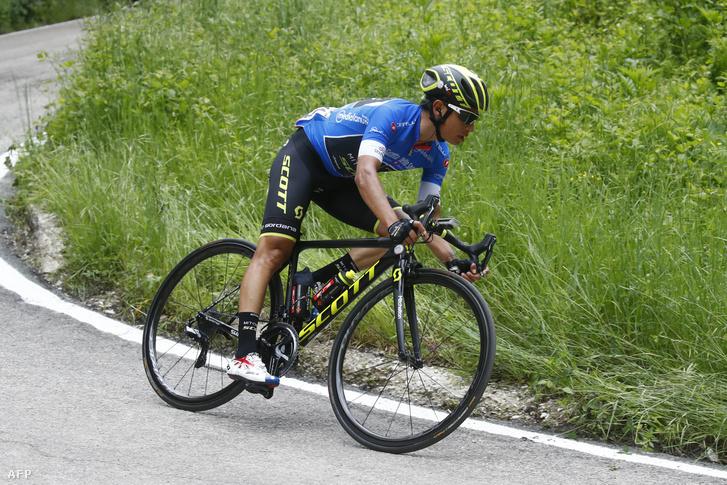Esteban Chaves a 10. szakaszon