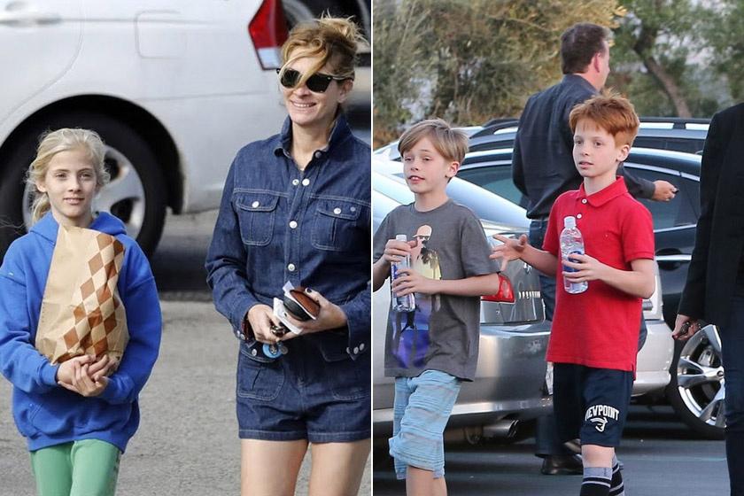 Julia Roberts mind 2004-ben született ikergyermekeit, Hazel Patriciát és Phinnaeus Waltert, mind három évvel fiatalabb öccsüket, Henry Danielt igyekszik távol tartani a nyilvánosságtól.