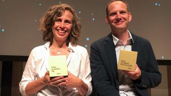 Bödőcs és Tompa Andrea nyerte a Libri irodalmi díjat