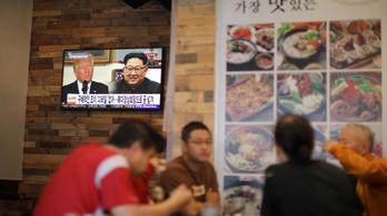 Észak-Korea visszakozik, a Trump-találkozó is bukhat