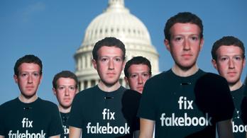 Sok tízmilliónyi hamis profiloldal van a Facebookon
