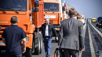 Washingtonnak nem tetszett Putyin krími kamionozása