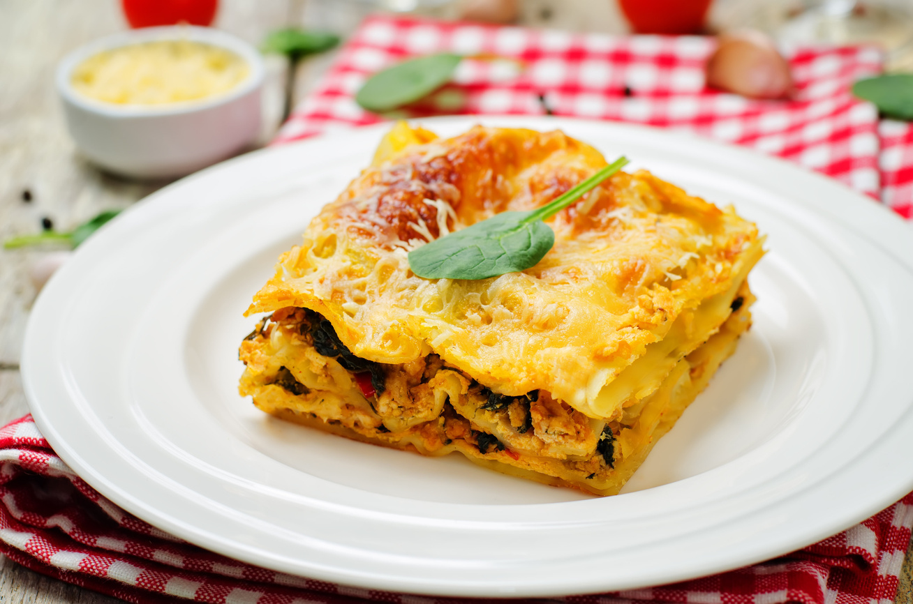 Könnyű, csirkés-zöldséges lasagne: krémes, szaftos és nagyon finom fogás