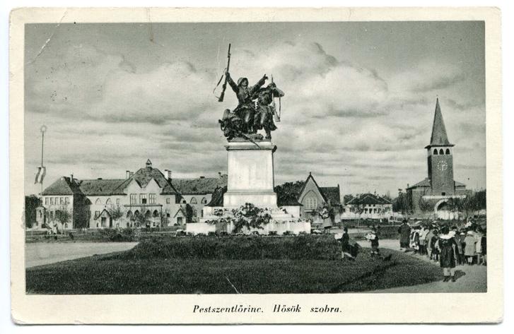 A pestszentlőrinci Kossuth tér az 1940-es években
