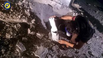 Tényleg klórgázt vetettek be Szíriában