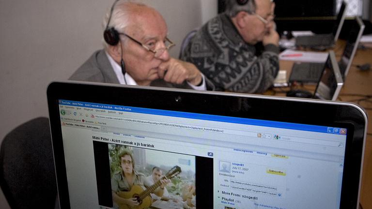 Élen járnak a magyarok az internetezésben