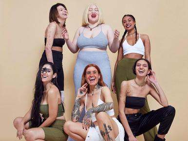 Bőrbetegséggel küszködő lányokkal hirdeti egy divatcég a tökéletlen tökéletességet