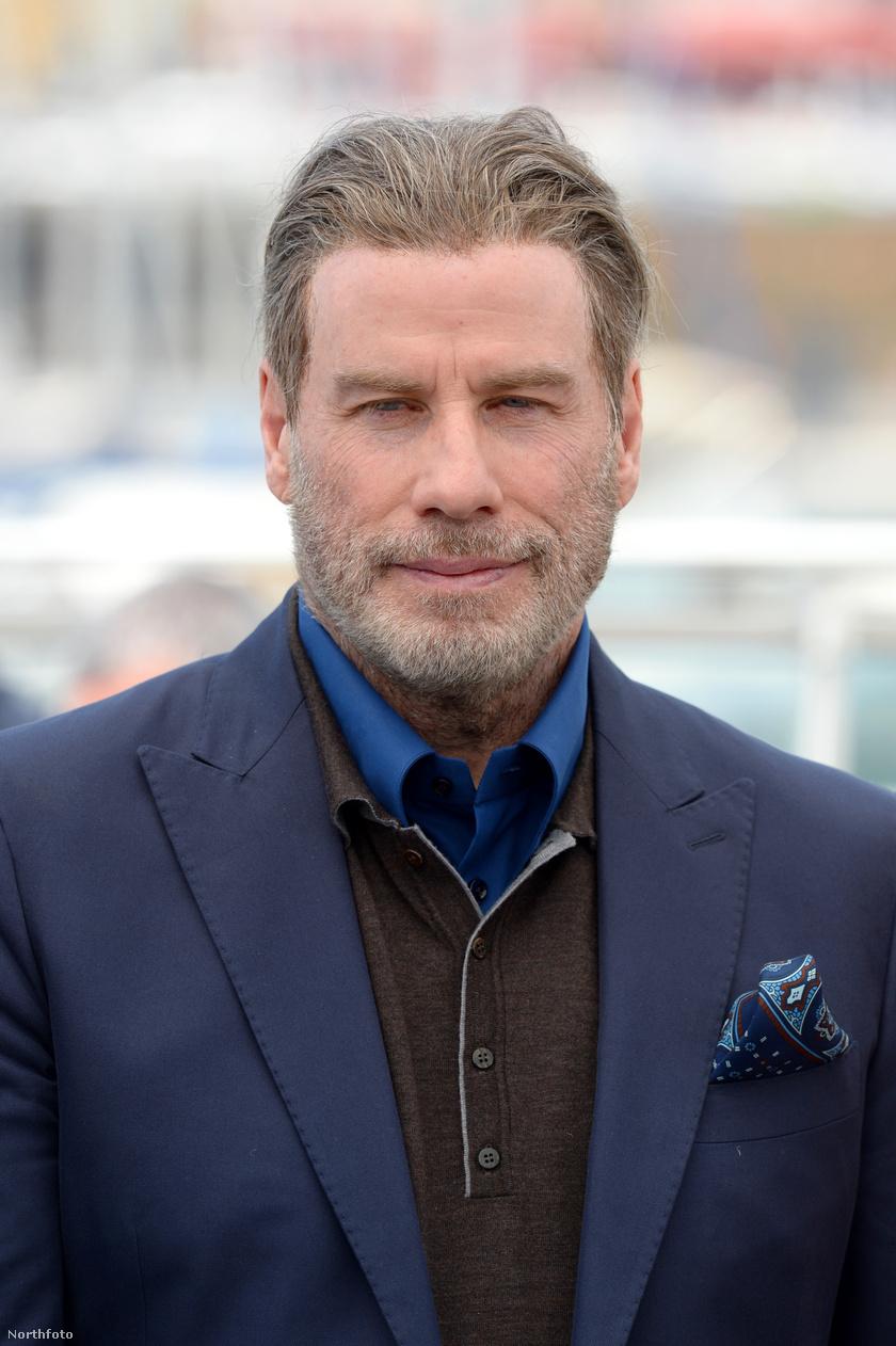 John Travolta is ott van a cannes-i filmfesztiválon - a színész úgy néz ki, mint egy viaszbábu.