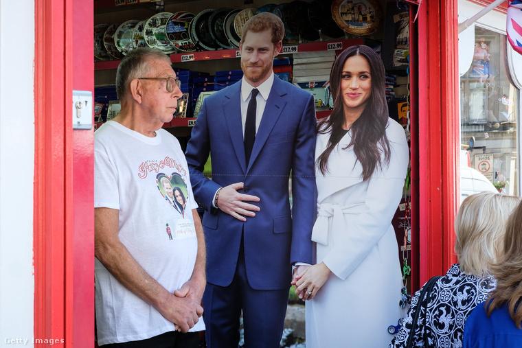 Fanatikus rajongók már 4 nappal a ceremónia előtt ellepték Londont