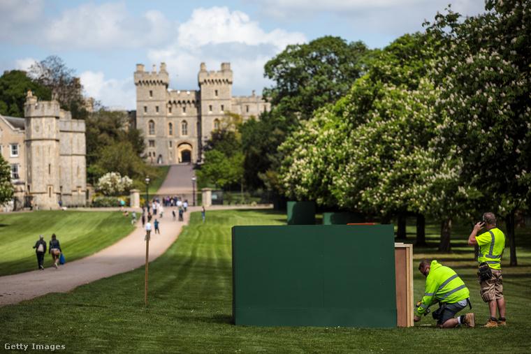 A windsori kastély a brit királyi család egyik rezidenciája, amelynek története egészen 1070-ig nyúlik vissza
