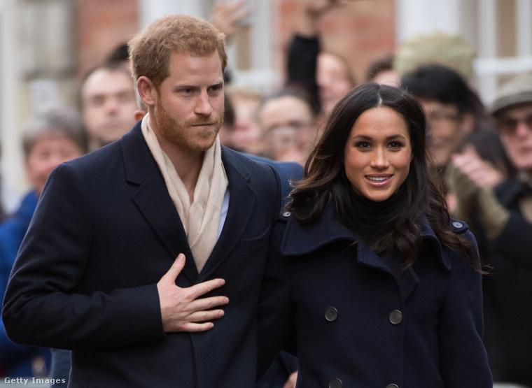 A 33 éves Harry herceg tavaly decemberben, 16 hónap együttjárás után kérte meg a 36 éves amerikai színésznő, Meghan Markle kezét