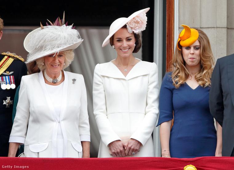Végül, de nem utolsó sorban, ne felejtsük el, hogy különleges kalapok nélkül nincs tisztességes társadalmi esemény a brit királyi családban, amelynek hölgytagjai már a 19