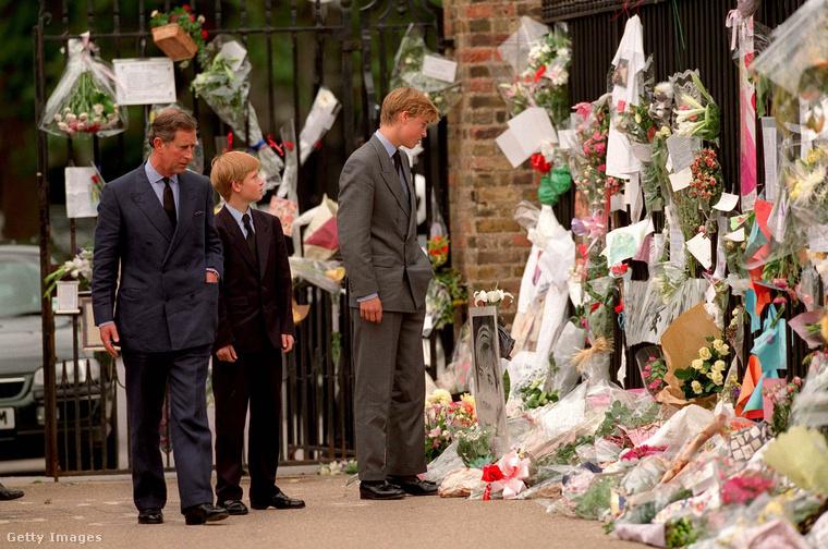 És a szemünk előtt veszítették el édesanyjukat, Diana hercegnőt 1997-ben