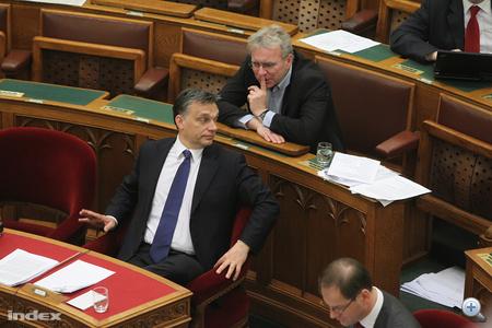 Orbán Viktor és Pokorni Zoltán (Fidesz)