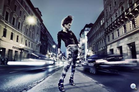"""Csoboth Edina """"Punk City"""" című képe"""