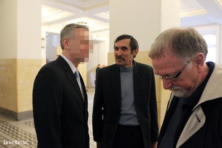 A volt titokminiszter és a volt parlamenti képviselő. Fotók: Barakonyi Szabolcs