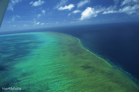 A Nagy korallzátony Ausztrália partjainál
