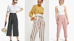 Ezek a nadrágok lesznek divatban nyáron