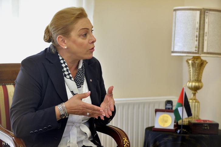 Marie Antoinette Sedin palesztin nagykövet