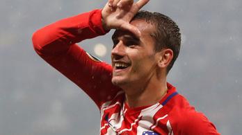 EL-döntő: könnyed Atlético-siker a peches Marseille ellen