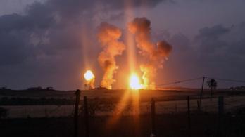 A Hamász gázai állásait támadta Izrael