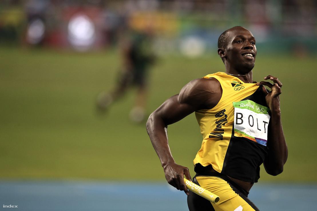 Bolt Rióban 2016. augusztus 20-án