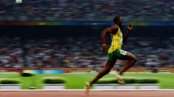 Usain Bolt világcsúcsfutása diribdarabjaira szedve is lenyűgöző