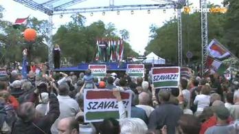 Orbán mindannyiunk hangját hallja