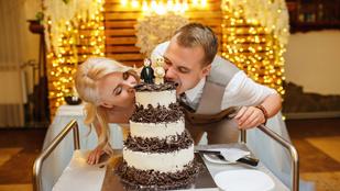 Így (ne) válassz esküvői tortát!