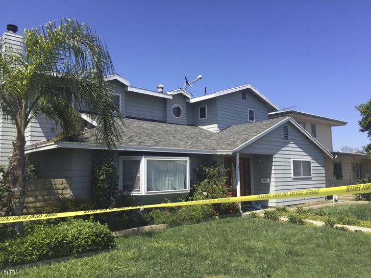 Az áldozat K. Ildikó háza a kaliforniai Trabuco Canyonban 2018. május 16-án, miután az előző nap pokolgép robbant az asszony Aliso Viejó-i szépségszalonjában. A detonáció K. Ildikót megölte, három másik ember megsebesült.