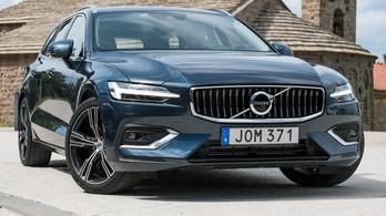 Menetpróba: Volvo V60 – 2018.