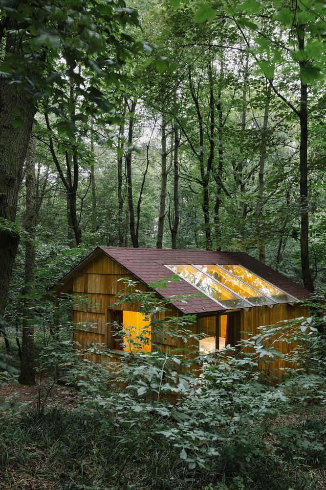 A weinvierteli Ochy erdőben nyolc üvegtetős kunyhó várja a romantikázni vágyókat