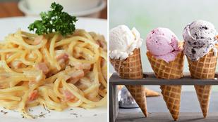 A 9 legmenőbb olasz étel egyenesen Rómából