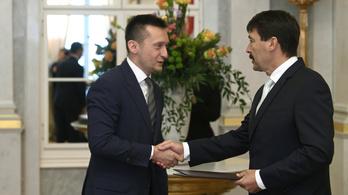 Áder kinevezte a 4. Orbán-kormány minisztereit