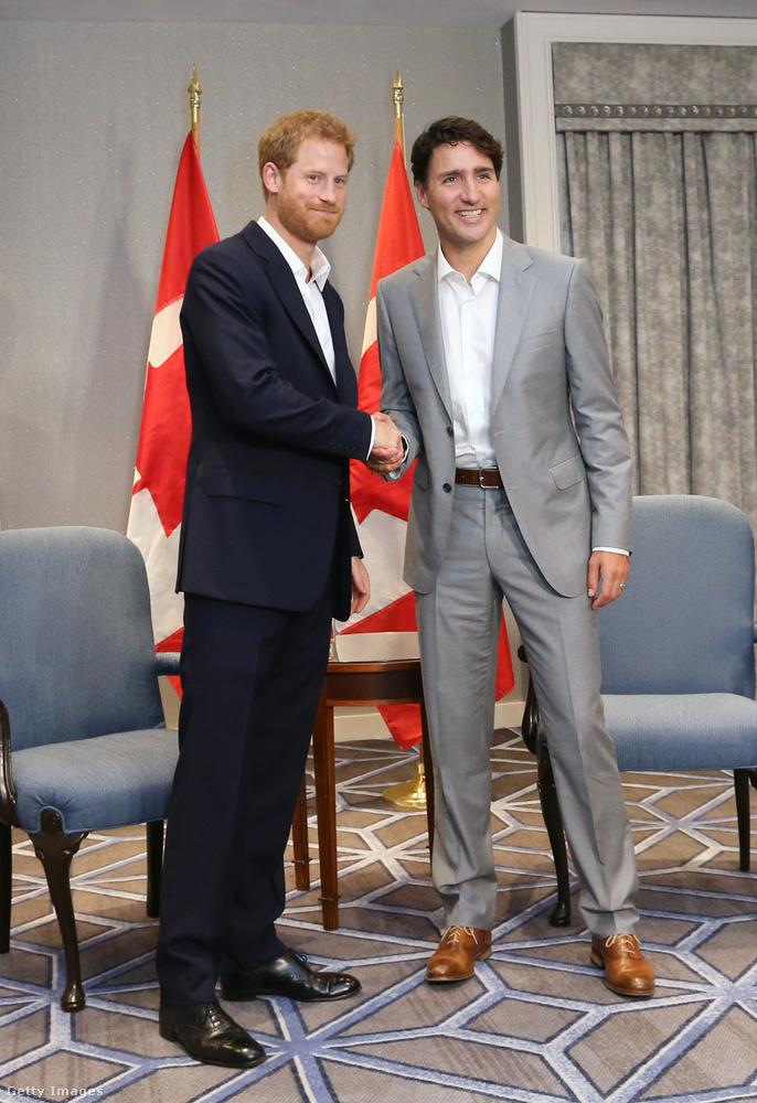 2017-ben a kanadai miniszterelnökkel
