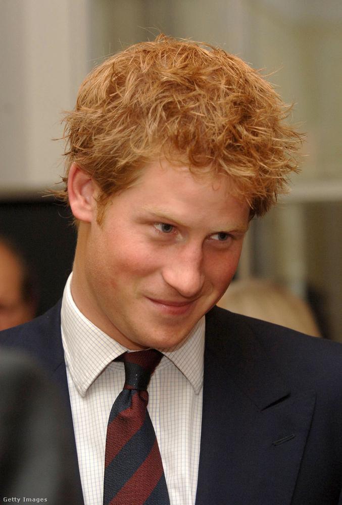Az ifjú Harry herceg somolygós képeit tartogattuk a végére.