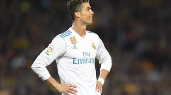 Ronaldo elismerte az adócsalást, 14 millió euróval menekülne a büntetéstől