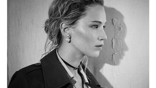 Jennifer Lawrence mintha nem is önmaga lenne a Dior új kampányában