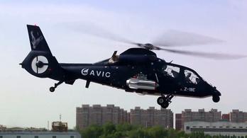 Tesztelték az új kínai harci helikopter fegyverrendszerét