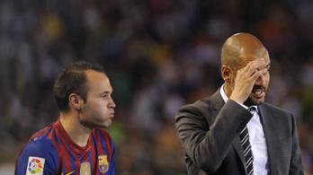 Guardiola a ManCitybe hívná Iniestát
