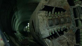 Elindult a Duna alá a metró fúrópajzsa