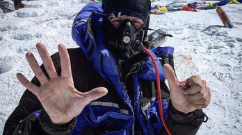 Németh Alexandra a második magyar nő, aki megmászta a Mount Everestet