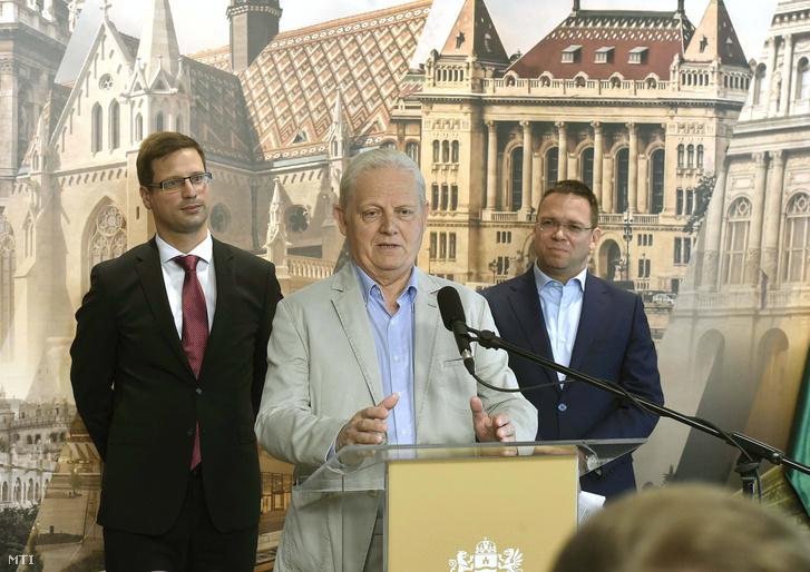 Tarlós István, Gulyás Gergely és Fürjes Balázs