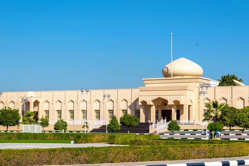 Fazza, azaz Hamdan sejk palotája.